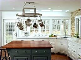 kitchen island hanging pot racks pot hanger kitchen hanging kitchen island pot rack with lights