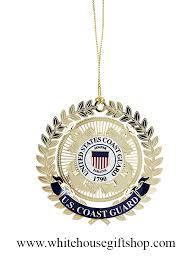 united states coast guard uscg holidays ornament