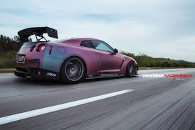 chrome nissan neo chrome plasti dip nissan gt r with array of mods is epic
