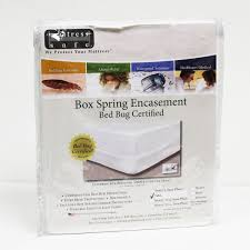 Mattress Cover Bed Bugs Mattress Safe Box Spring Encasement Bed Bug Certified Mystic