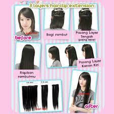 hair clip rambut kanubeea hair clip hair clip 3 layer