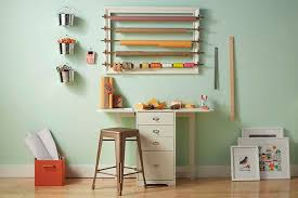 create your own gift wrap station the home depot