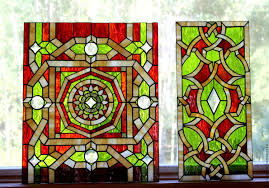 stained glass designs for doors buy stained glass tiffany geometric pattern stained glass in the
