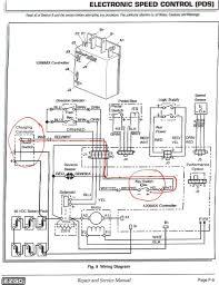 golf cart battery wiring diagram ez go
