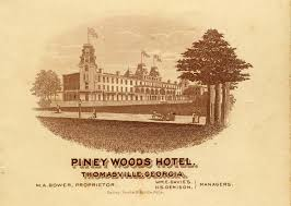 The Bookshelf Thomasville Ga Mystery At The Museum The Burning Of The Piney Woods Hotel