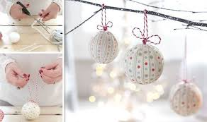 handmade christmas decorations that are easy to make style