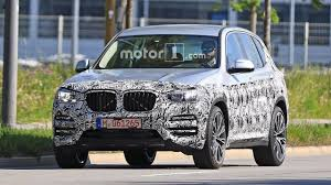 all new bmw x3 spied as full reveal looms