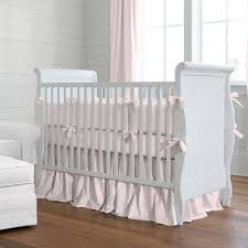 Gray And Pink Crib Bedding Solid Color Baby Bedding Crib Bedding In Solid Colors Carousel