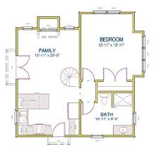 small vacation home floor plans floor plan garage story less plan basement chalet house ranch open