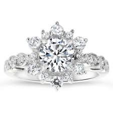 snowflake engagement ring best snowflake diamond ring products on wanelo