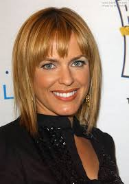 arianne zucker s flattering bob with choppy bangs and adrienne