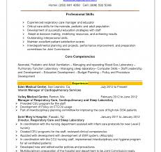 exle of professional resume templates resume occupational therapist sleespiratory