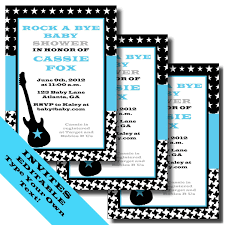 photo baby shower invitations with image