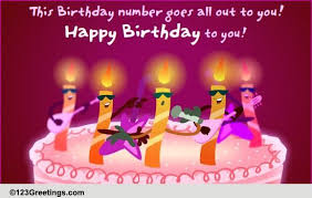 a singing birthday wish free songs ecards greeting cards 123