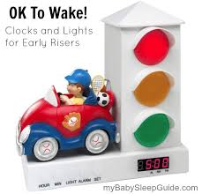 alarm clock that wakes you up during light sleep ok to wake clocks and lights for early risers my baby sleep guide