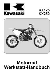 kawasaki kx125 250 service manual ger