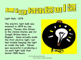 The Invention Of The Light Bulb Light Bulb Invention Facts Iron Blog