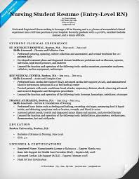 creative resume exles 2015 nurse and health entry level nursing student resume sle tips resumecompanion