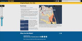 Virginia Beach Flood Map by Sea Level Rise Viewing Tools Water Resources Hampton Roads
