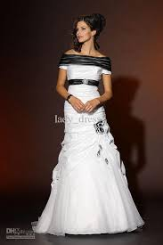 black and white wedding dresses black and white wedding dress with sleeves wedding dresses dressesss