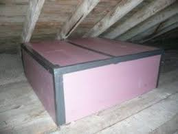 how to build an attic stair cover for big energy savings attic