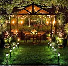 Gazebo Designs With Kitchen by Lighting The Gazebo At Night 20 Original Ideas To Inspire You