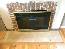 issues with installing tiles around a fireplace drywall