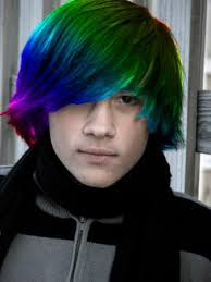 emo style hair colors and hairstyles for girls and boys