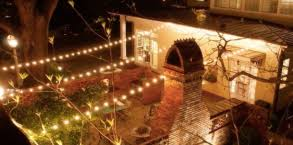 Patio Cafe Lights by Blog Outdoor Lighting Perspectives