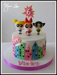 Powerpuff Girls Decorations 36 Bästa Bilderna Om Birthday Cakes And Parties På Pinterest