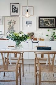 Scandinavian Style Armchair Amelot Wood Armchair Natural Wishbone Chair Dining Room Design