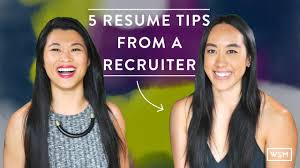 7 Tips On How To Write A Resume That Grabs Recruiters U0027 Attention by Resume Advice From Recruiters Eliolera Com