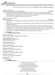 Hotel Front Desk Resume Examples by Residential Concierge Resume Sample 5601
