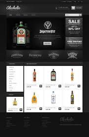 website design 42664 alcoholic beverage store custom website