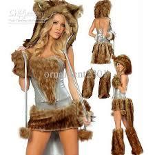 big bad wolf costume 2017 big bad wolf costume grey brown fur hooded fox costume