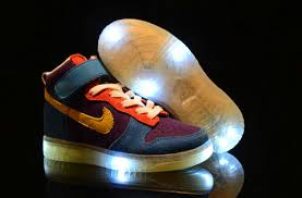 light up high tops nike cute nike dunk dark pacman glow in the kids light up shoes for nike