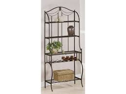 Metal And Wood Bakers Rack Cute Kitchen Bakers Racks Come With Black Metal Kitchen Bakers