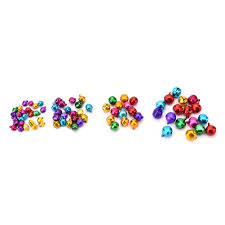 aliexpress com buy 100pcs loose beads colorful small jingle