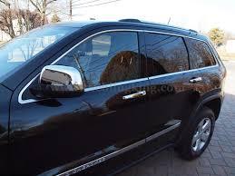 lexus door handle key cover 2011 2015 jeep grand cherokee chrome door handle mirror cover trim