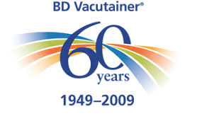 60 years anniversary bd vacutainer 60 years 1949 2009 logo vector ai free