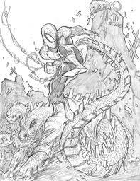 spiderman lizard joeyvazquez deviantart