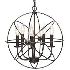 light fixtures industrial vintage lighting ceiling chandelier 5 lights metal