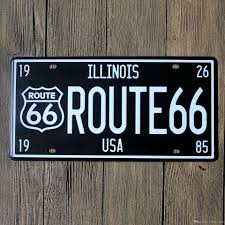 route usa 66 vintage craft tin sign retro metal painting antique route usa 66 vintage craft tin sign retro metal painting antique iron poster bar pub signs wall art sticker 15x30cm white vinyl wall decals white wall
