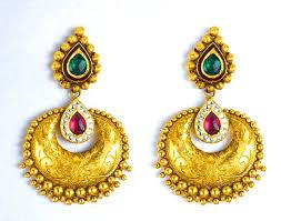 golden earrings 17 best 22kt earrings to wear images on golden