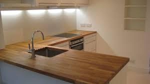 cuisine avec plan de travail en bois plan travail bois cuisine maison françois fabie
