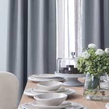 block light weight blackout curtains blue gray u2013 loft curtains