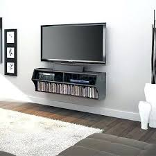 tv stand wall mounted tv cabinet design ideas interior black