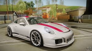 porsche red 2017 porsche 911 r 991 2017 v1 0 red for gta san andreas
