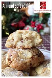 christmas recipe soft chewy almond cookies aka bethmann amaretti