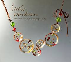 resin beaded necklace images Little windows brilliant resin project center ideas jpg